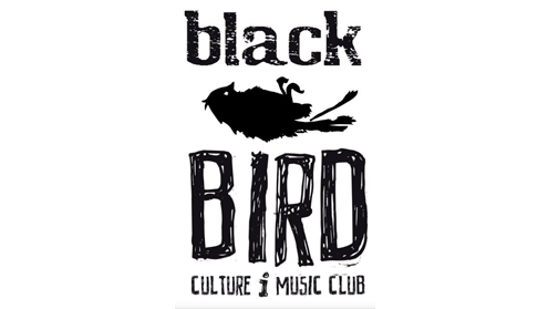 logo black bird